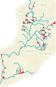 colorado river dams map cowboys indians and lawyers federal water projects on