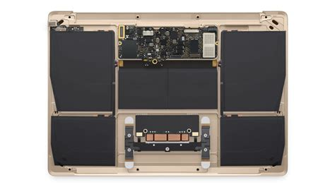 Inside the new MacBook is mostly batteries   Geek.com