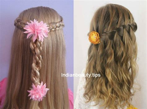 Hairstyles For Flower by Flower Hairstyles For Indian Tips