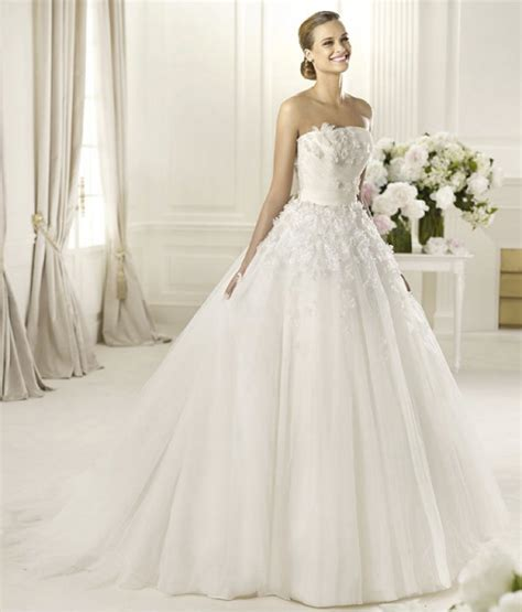 Brautkleid Pronovias by 2013 Wedding Dresses From The Pronovias