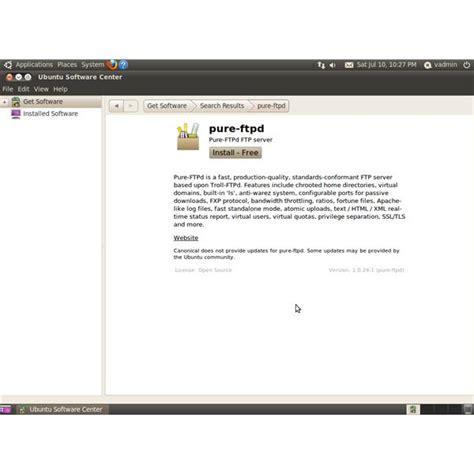 setup ubuntu server ftp ubuntu linux ftp setup