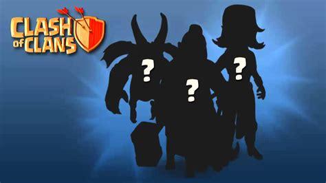 imagenes de las tropas oscuras de clash of clans actualizacion clash of clans nuevas tropas youtube