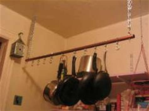 Pot Hanging Rod 1000 Images About Pots And Pans Holder On Pot