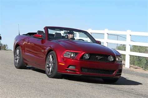 convertible mustang 2014 ford mustang gt convertible first test motor trend