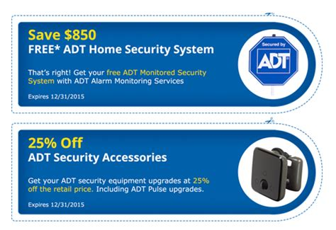 adt coupons for home and business security systems