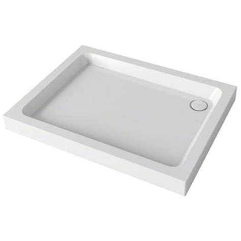 mira flight rectangle shower tray 1200mmx 760mm 4 upstands