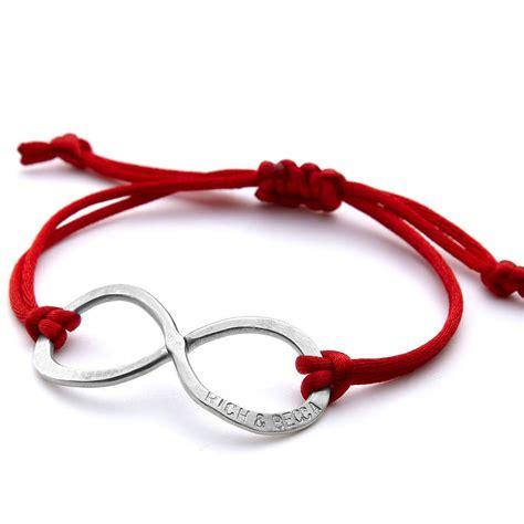 infinity friendship bracelet by chambers beau