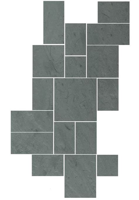 tile pattern using 12x12 and 18x18 sheldon slate products company inc monson maine