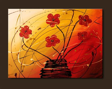 acrylic paint drawings abstract paintings by guedez flowers paintings