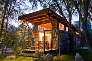 Cost Plus Outdoor Furniture by Luxury Turnkey Tiny Cabin Combines Rustic And Modern