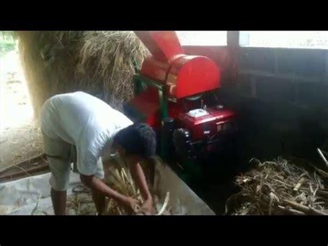 mesin penghancur tebon limbah pohon jagung untuk pakan