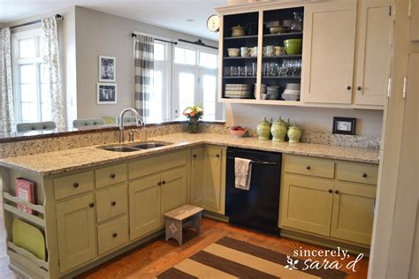 Painting Kitchen Cabinets by Painting Kitchen Cabinets With Chalk Paint Update