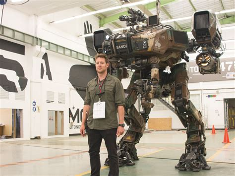 film up humandroid robots for the movie chappie were 3d designed and