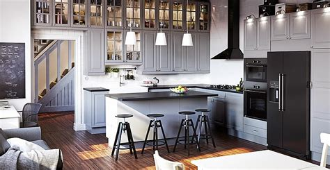 collection of ikea kitchen units designs and reviews