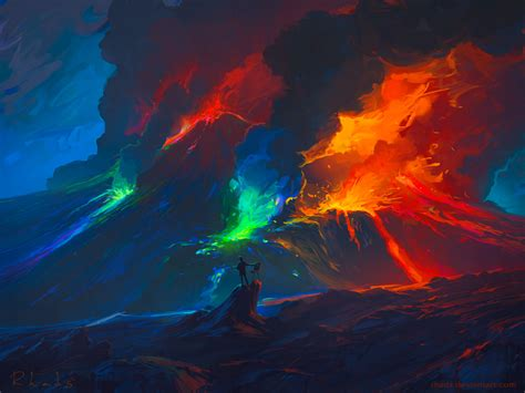 paint deviantart second paint eruption by rhads on deviantart