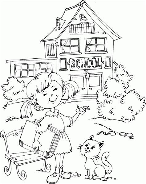 sketchbook untuk gingerbread school coloring pages for world