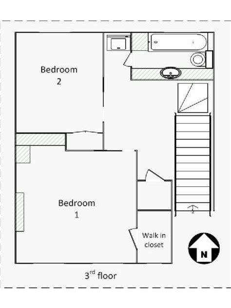 Triplex Apartment Plans New York Apartment 3 Bedroom Triplex Apartment Rental In