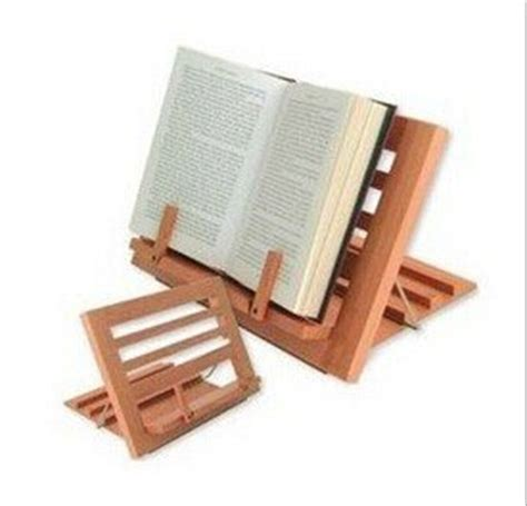 amazon.com: winglife vintage wooden portable reading stand