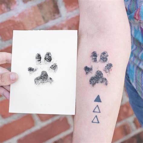 tatuajes con la huella de tu perro yalosabes com