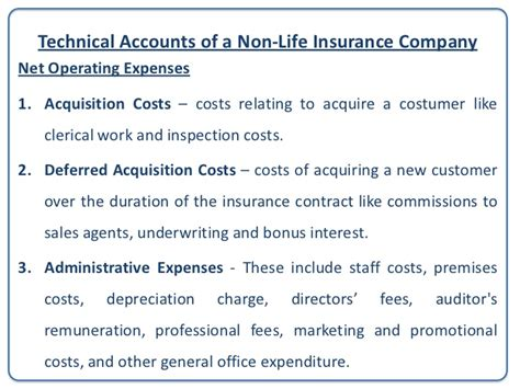 Deferred Inspection Office by Accounting For Non Insurances