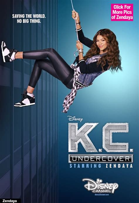 Zendaya On ?K.C. Undercover?: First Poster Of New Disney Show Revealed   Hollywood Life