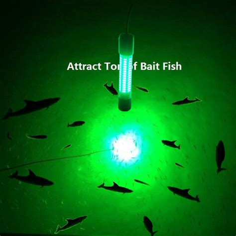 fishing lights for boats 12v led green underwater fishing light l 8w fishing
