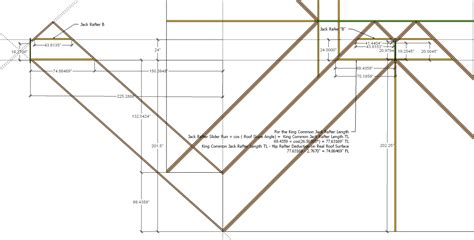roof framing geometry hip valley roof framing exle 1