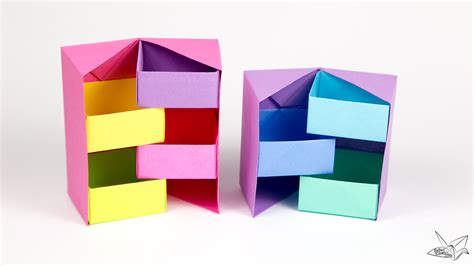 Masu Box Origami - origami tutorial how to make a box masu creator