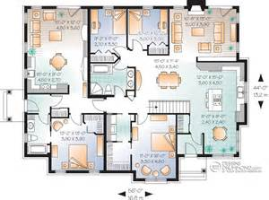 House Plans With Mother In Law Suite Classique Jumel 233 S Amp Bi G 233 N 233 Ration Champ 234 Tre Manoirs