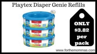 printable coupons for diaper genie refills playtex diaper genie refills 270 ct only 3 82 per pack