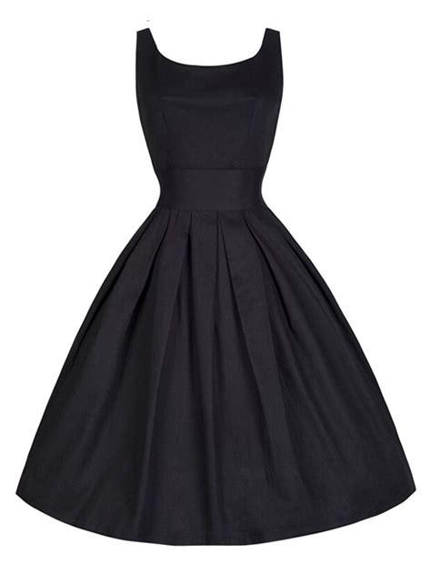 audrey hepburn swing dress black sleeveless audrey hepburn style 50s retro vintage