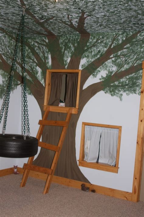 tree house bedroom tree house bedroom for the kids i love themed rooms