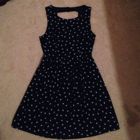 triangle pattern dress 44 off forever 21 dresses skirts navy blue classy