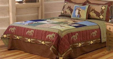 twin full queen pony horse comforter sheet pillow case bed horse bedding horse quilt twin full queen or king