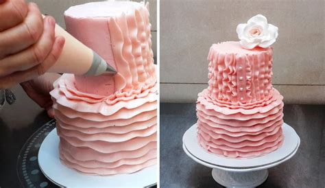 Cake Decorating Tips For Beginners by Easy Buttercream Cake Decorating Designs