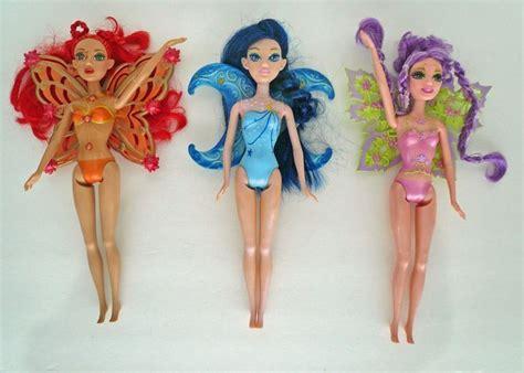 rag doll glee fairytopia magic of the rainbow 3 dolls lumina