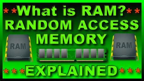 whats is ram what is ram random access memory by kuch bhi