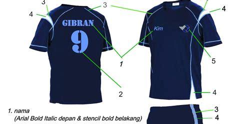 desain baju futsal kelas kim liong design kostum futsal polman negeri babel