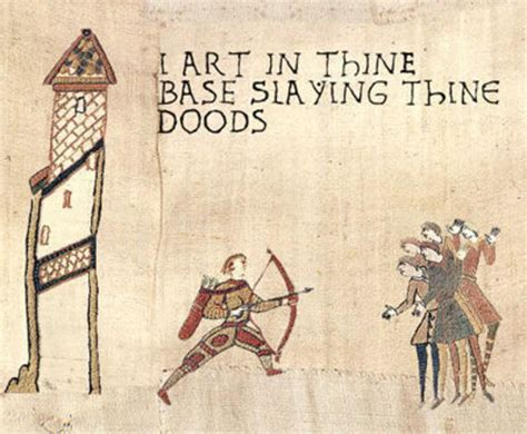 Bayeux Tapestry Meme - image 12710 medieval macros bayeux tapestry