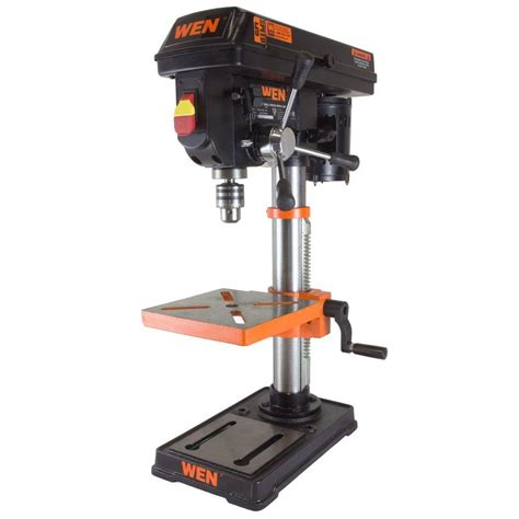 wen 10 in drill press with laser 4210 the home depot