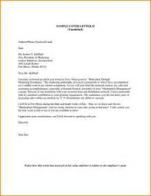 Unsolicited Cover Letter by Unsolicited Cover Letter