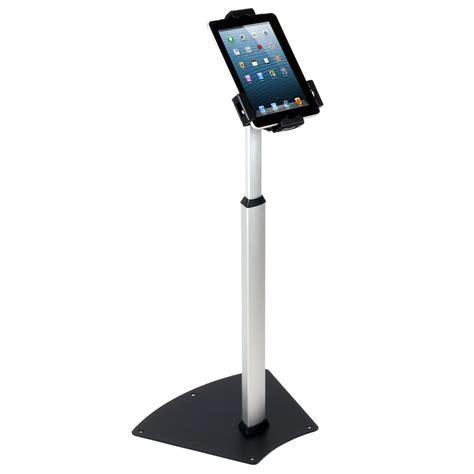 tablet floor stand tablet floor stand anti theft adjustable height forest av