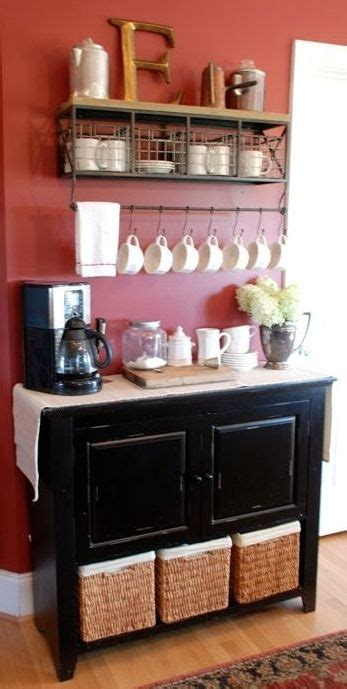 Coffee Bar Table Coffee Bar Diy Pinterest