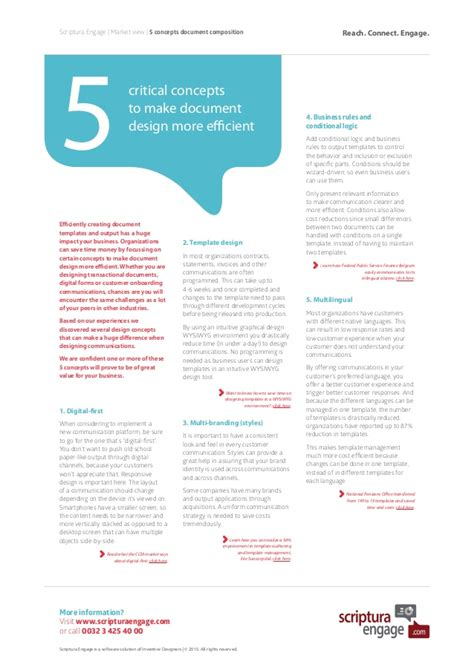 document layout design principles 5 concepts for better document design