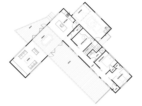 Single Storey House Floor Plan Design by Haven Baches