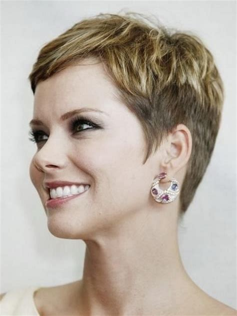 low maintainance short haircuts for 50 year old woman pixie haircuts for older women