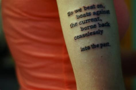 great gatsby tattoo the great gatsby quotes www imgkid the