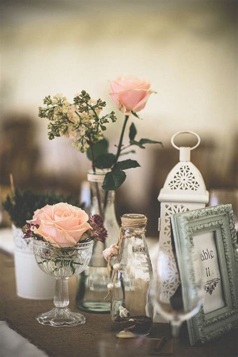 rustic vintage wedding centerpieces best 25 vintage wedding theme ideas on