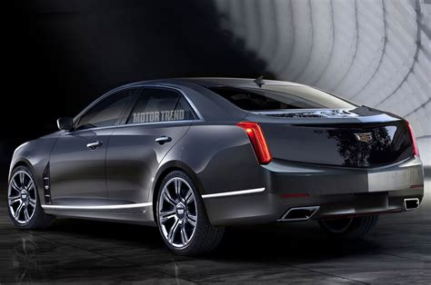 Cadillac Sedan Rendered Should The Cadillac Flagship Sedan Look Like This