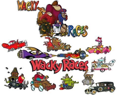 wacky races wacky races logo images